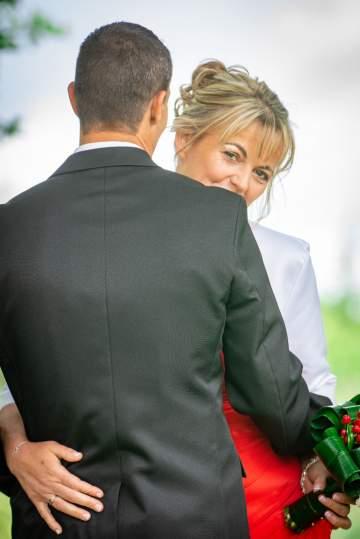 Photo de mariés à Cadillac